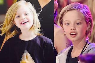 Dal caschetto ai capelli corti: come è cambiata nel tempo Shiloh Jolie-Pitt