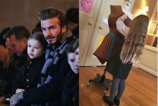 Stilista a 4 anni, Harper Beckham segue le orme di mamma Victoria