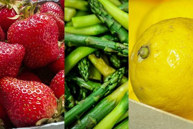 quali frutta e verdura consumare per perdere peso