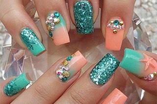 Le unghie della settimana: mermaid manicure (FOTO)