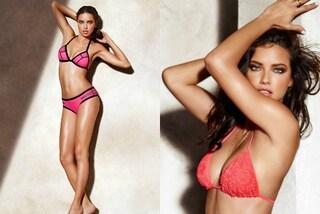 Adriana Lima in bikini per Calzedonia: è lei la nuova testimonial del brand