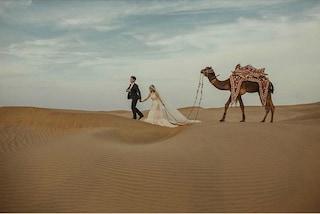Sulla cima di un monte o nel deserto: i luoghi più incredibili in cui organizzare le nozze