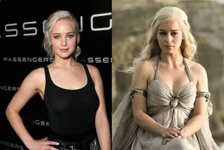 """Jennifer Lawrence cambia look: somiglia a Kalheesi di """"Game of Thrones"""""""