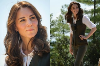 Kate Middleton, elegante anche in jeans e stivali