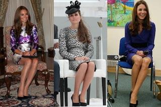 """Gambe """"da Duchessa"""": secondo il galateo le donne devono sedersi come Kate Middleton"""