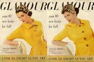 """A 49 anni ricrea le foto della mamma modella: """"Non mi sono mai sentita bella come lei"""""""