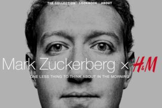 Mark Zuckerberg stilista per H&M, è solo un pesce d'aprile