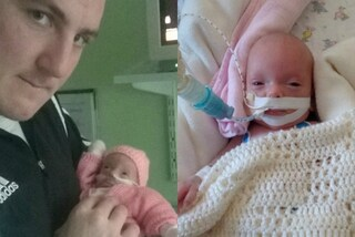 Salva la vita della figlia nata prematura: è il papà più coraggioso del mondo