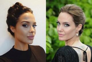 Mara, la sosia di Angelina Jolie che fa impazzire il web