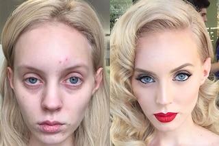 Il potere del make up: Goar trasforma i volti delle clienti con il contouring