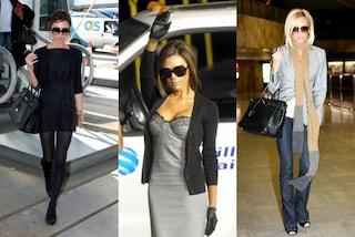 Victoria Beckham è la star meglio vestita in viaggio