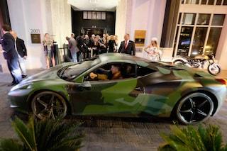 Lapo Elkann vende la sua Ferrari Camouflage per 1 milione di euro