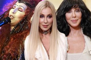 I 70 anni di Cher: tutti i capelli e le trasformazioni della cantante