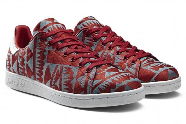 Tessuto e stampe, arrivano le nuove Stan Smith di adidas Originals