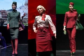 Alitalia cambia look e lancia le nuove uniformi