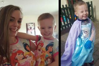 """""""Tuo figlio è vestito da femmina"""": la risposta indignata della mamma del bimbo di 3 anni"""