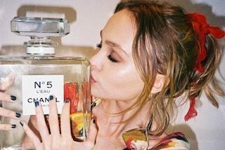 Lily-Rose Depp è testimonial del nuovo profumo Chanel N.5 L'Eau