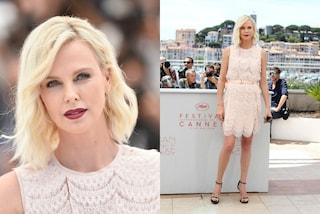 Charlize Theron, la bellezza algida che incanta Cannes
