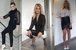 Emma veste in bianco e nero ad Amici 2016: tutti i look della Marrone per il serale