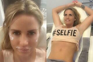 Liposuzione e ritocco alla bocca in un solo giorno: Katie Price documenta tutto sui social