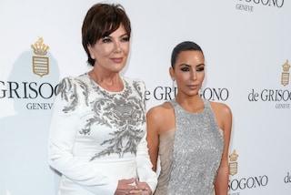 Kim Kardashian senza Kanye: al party di Cannes arriva con mamma Kris