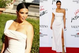 """Kim Kardashian in versione """"sobria"""" alla prima de """"La Traviata"""""""