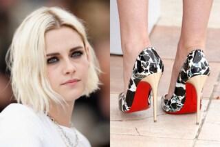 """Kristen Stewart a Cannes 2016: capelli spettinati e scarpe """"aggressive"""""""