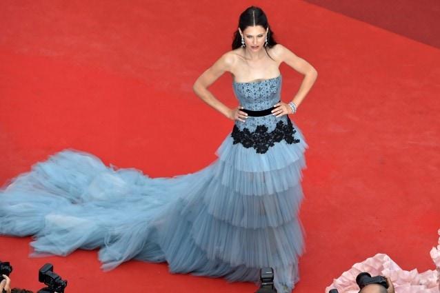 Bianca Balti in Alberta Ferretti a Cannes 2016