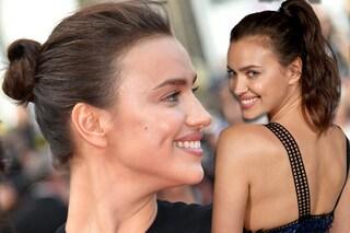 Ma cosa combini Irina: la Shayk a Cannes, acconciature sbagliate e capelli spettinati