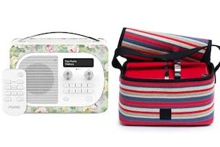 """Stereo vintage e custodia per diffusore Bluetooth: da oggi la musica diventa """"indossabile"""""""