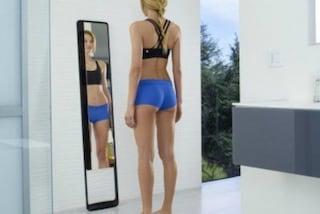"Arriva lo specchio ""intelligente"": avvisa quando bisogna dimagrire"
