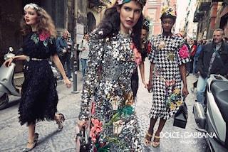 Dolce&Gabbana amano Napoli: la campagna con Bianca Balti nei vicoli della città