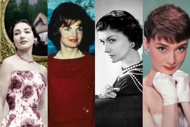 Maria Callas, Jackie Kennedy, Coco Chanel, Audrey Hepburn