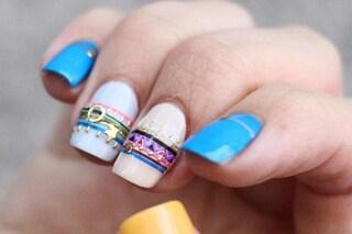 Le unghie della settimana: bracialet manicure