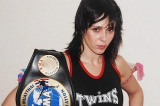La storia di Chantal: attrice, modella e campionessa di Muay Thai