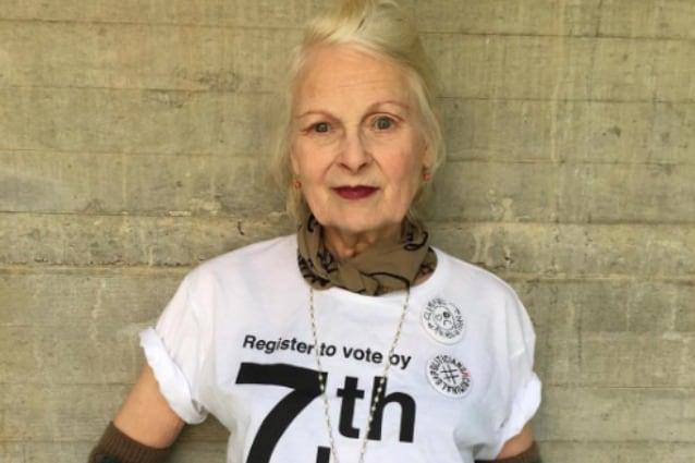Vivienne Westwood dice no alla Brexit
