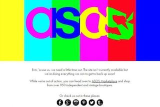 Asos down: offline il sito di abiti low cost, è a causa della Brexit?