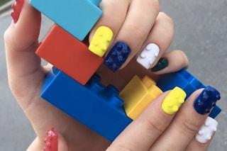 Le unghie della settimana: Lego nails