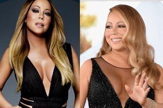 Come cambiano le star con il fotoritocco: Mariah Carey prima e dopo Photoshop
