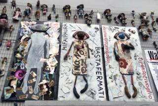 """Torna a Milano il """"Muro della bambole"""" per combattere il femminicidio"""