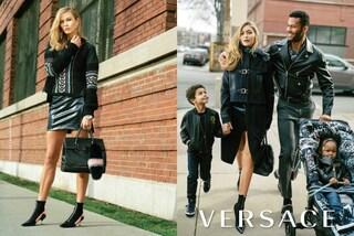 """""""Razzista e diseducativa"""", la campagna Versace con Gigi Hadid scatena le polemiche"""