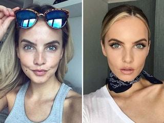 Le Miss si mostrano sui social senza trucco: la differenza è evidente
