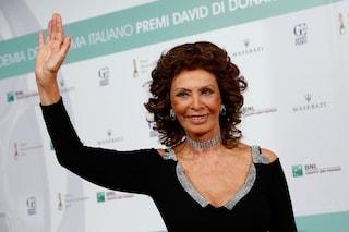 Nessuna celebrità a Napoli per Dolce&Gabbana: è Sophia Loren la star