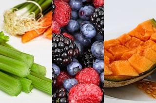 Frutta e verdura di stagione: la spesa di luglio