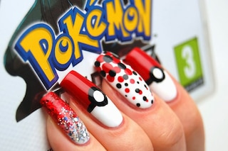 Le unghie della settimana: Pokémon manicure