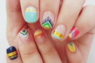 Le unghie della settimana: fringe nails