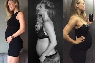 Bar Refaeli: cresce il pancione e cambia il corpo della modella in gravidanza