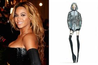 Svelato il look di Beyoncé per il concerto di Milano  cristalli e fiori per  la ff54d74d9d1