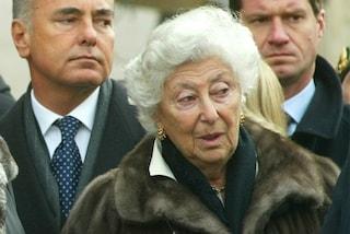 Addio a Clara Agnelli, prima moglie del principe von Fürstenberg