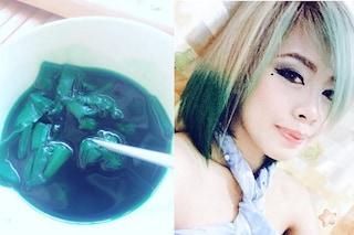 Colora i tuoi capelli con la carta crespa: il nuovo trend che spopola su Instagram